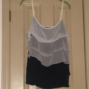 NY&CO Ruffled Sleeveless Camisole
